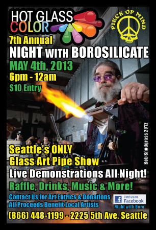Night with Borosilicate sponsored by Hot Glass Color and Supply