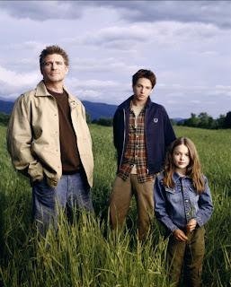Família Brown da série estadunidense Everwood - uma segunda chance (Andy, Ephram e Delia)