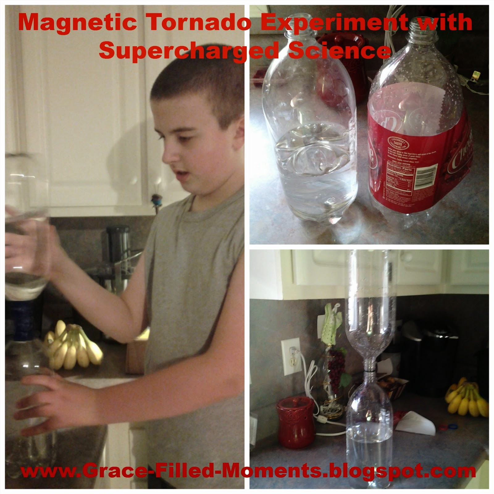 Magnetic Tornadoes