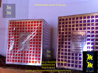 perfume purple picture & red picture pour femme