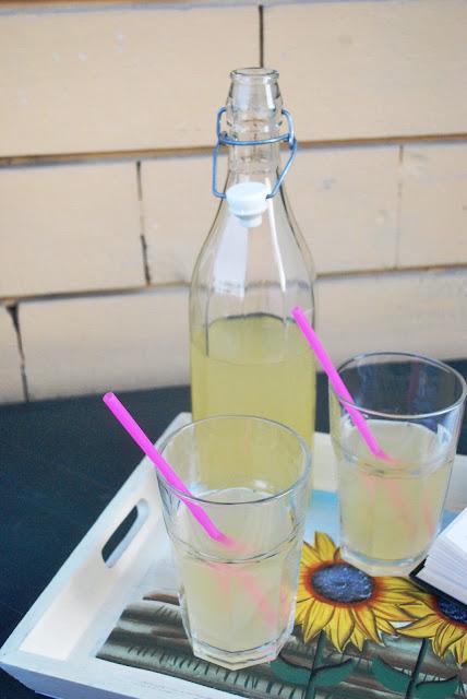 limonata al miele e vaniglia