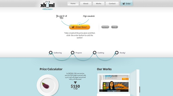 Xhtml kitchen