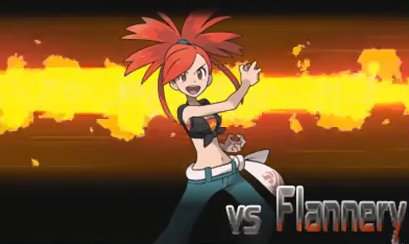 Flannery, gym leader of Lavaridge.