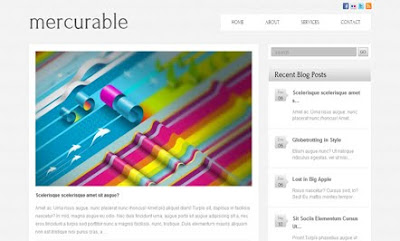Mercurable WordPress Theme