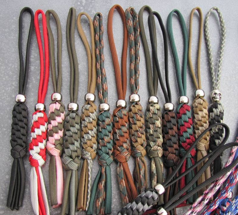 Urban prepper chick learn as i go paracord not just for for Knife lanyard ideas