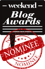 BLOG AWARDS NOMINEE