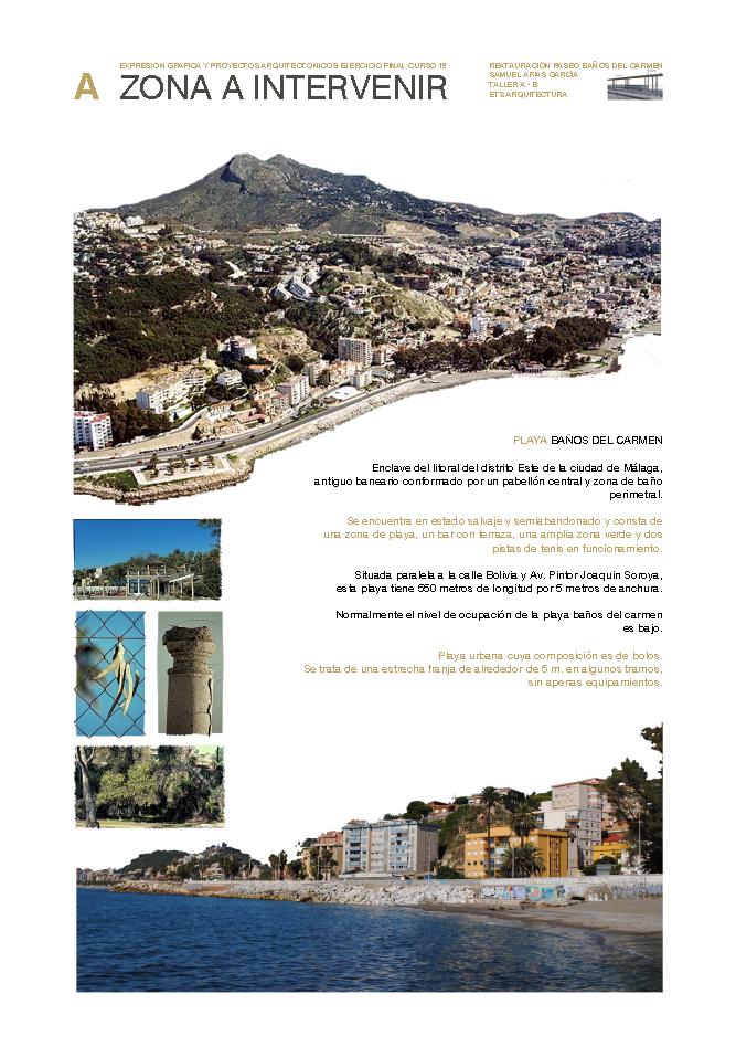 Sk studio intervenci n paseo mar timo ba os del carmen paneles - Ets arquitectura malaga ...