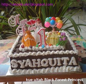 kue ulang tahun Black Forest