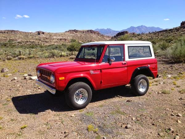 Early Ford Bronco 1973 | Auto Restorationice