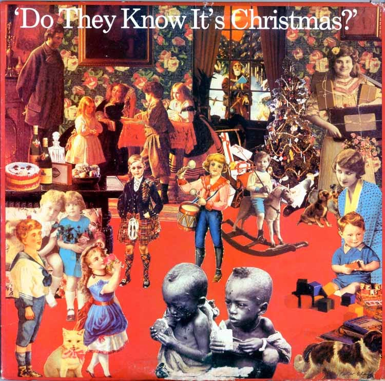 """BandAid-DoTheyKnowItsChristmas - """"We Are The World"""" throwback 1985 - Lifestyle, Culture and Arts"""