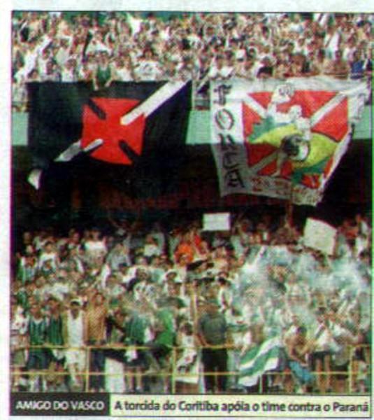 655ad5e0df Torcidas do Vasco  FORÇA JOVEM 2003  AGRESSÃO AOS JOGADORES DO CORITIBA