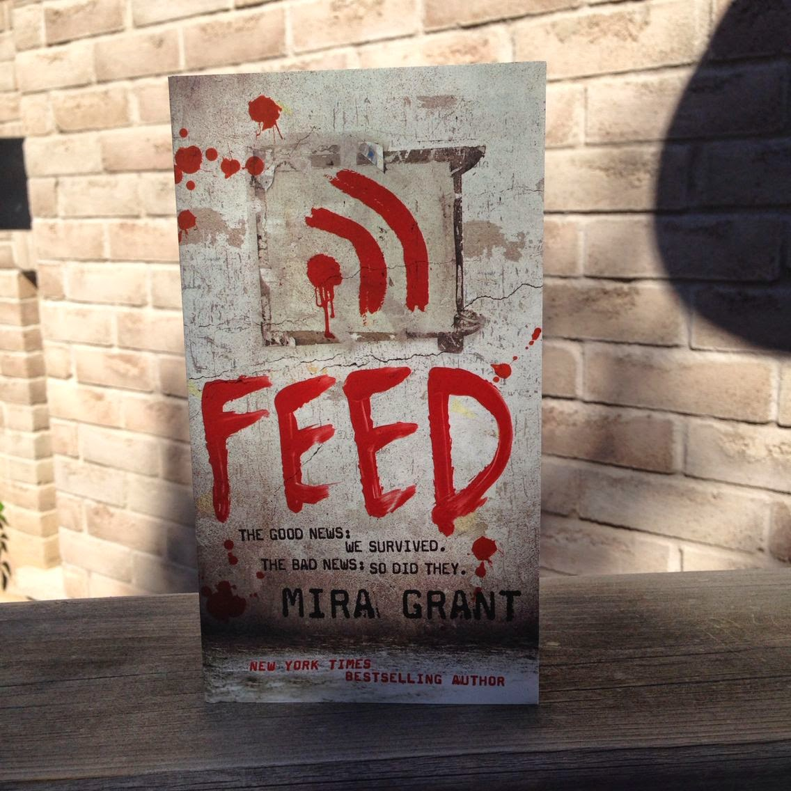 First Up, The Newsflesh (yes, Newsflesh)trilogy By Mira Grant This Box Set  Consists Of Feed, Deadline, And Blackout