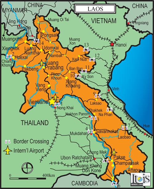 Celotehan Laos Ibukota Negara Vientiane Memperoleh Kemerdekaan Prancis 19 Juli