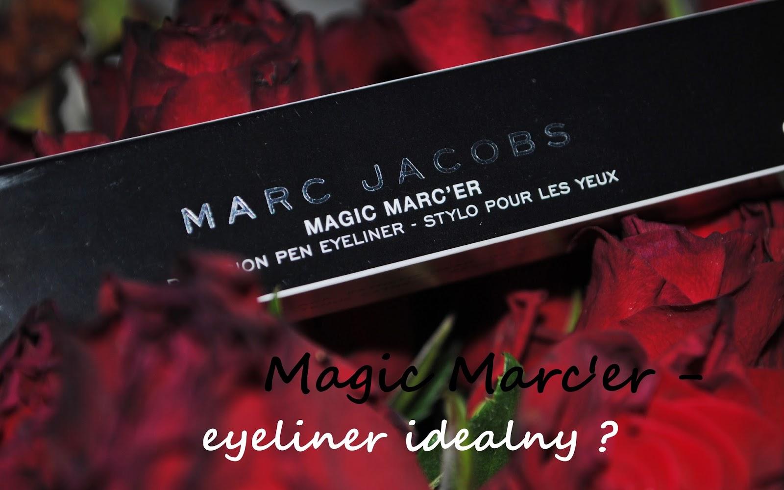 Magic Marc'er- eyeliner od Marca Jacobsa w kolorze Blacquer beautypediapatt.blogspot.com