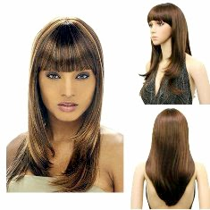 Gaya Rambut Model Layer