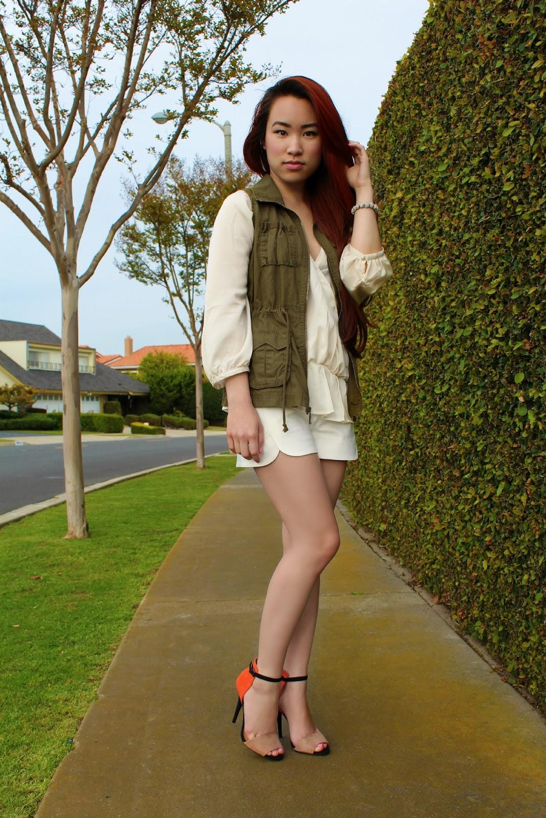 safari chic outfit