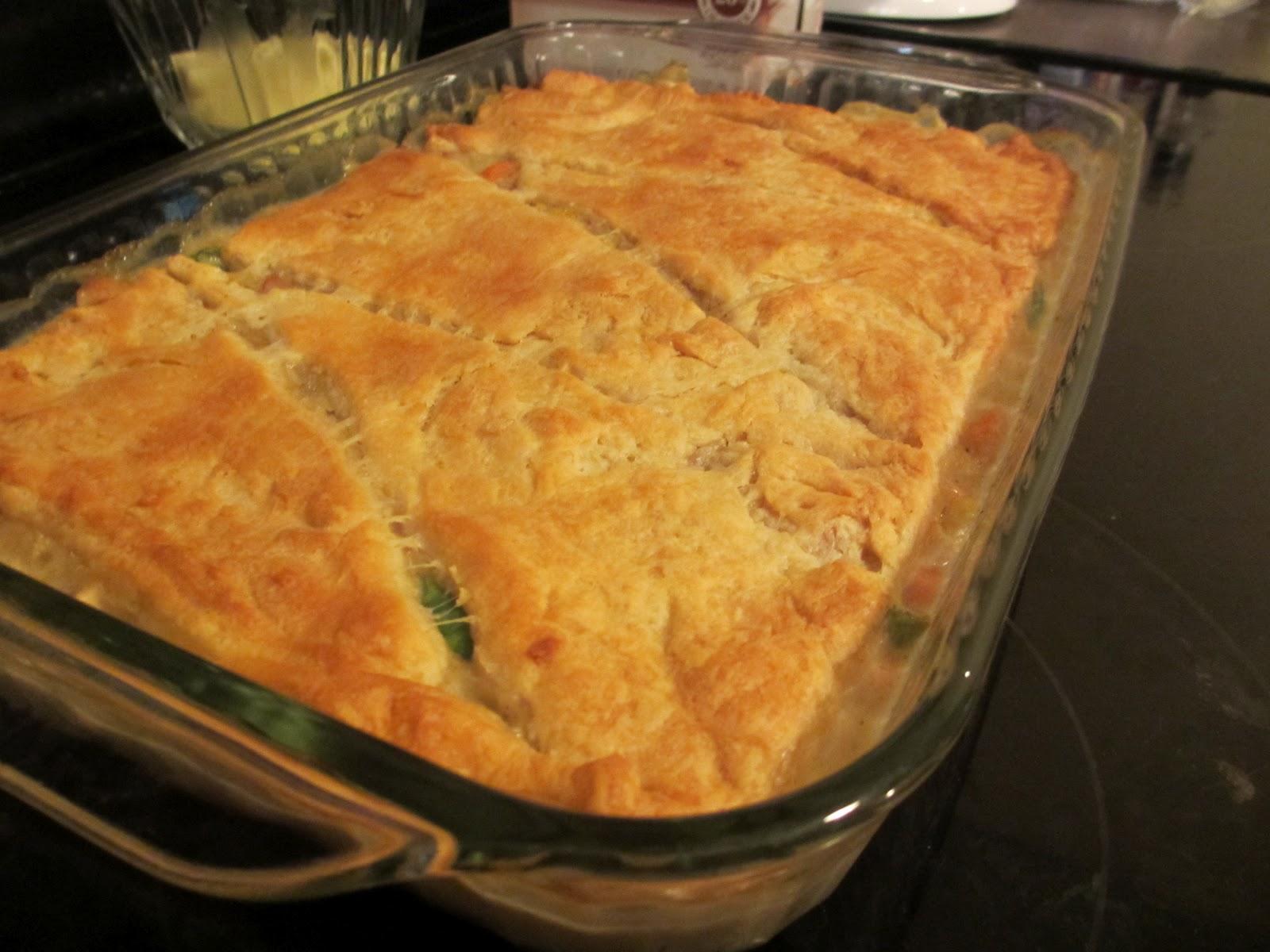 Recipe starters chicken pot pie