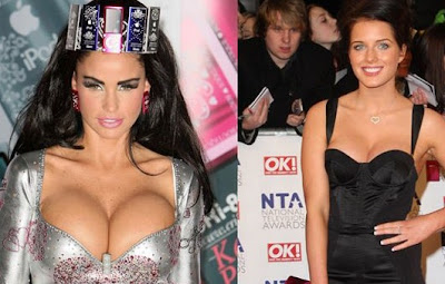Katie Price and Helen Flanagan