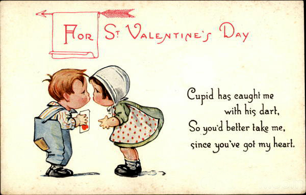 happy valentines day postcard friendship friday 102
