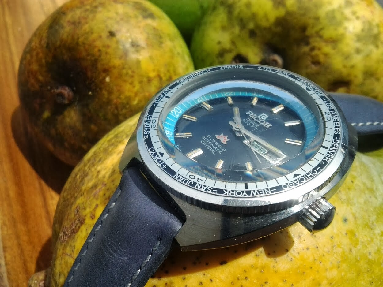 RM450: Ricoh World timer diver!!!