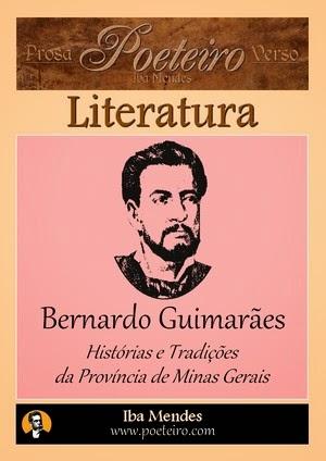 Histórias e Tradições da Província de Minas Gerais, de Bernardo Guimarães