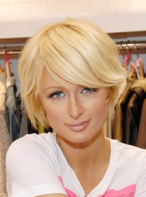 Short Hairstyles with bangs include bob haircuts with bangs, layered ...
