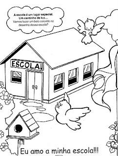 Jogos de Imagem para Colorir Regresso à Escola Crianças - imagens para colorir regresso à escola