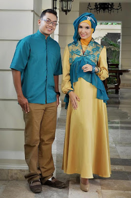 contoh model couple muslimah
