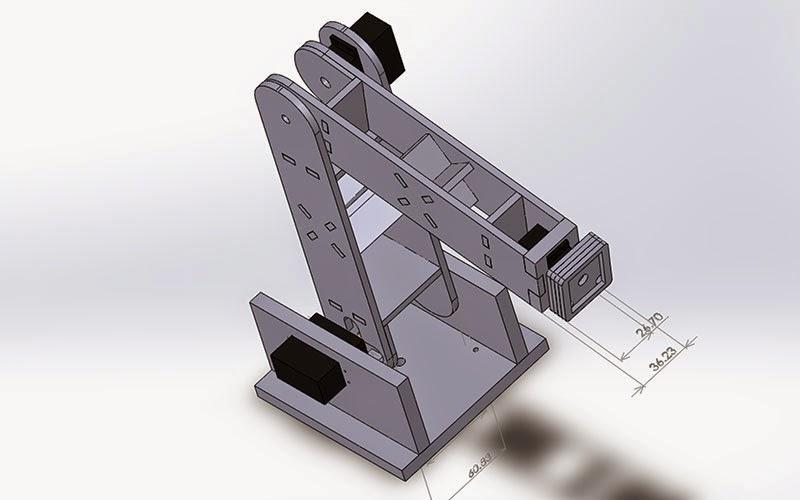 Robotic Arm With Servo Stepper And Dc Motors Ingenuitydias