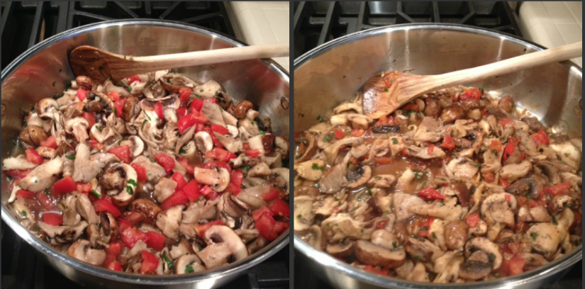 Savory, Sweet + Spicy: Grilled Polenta With Mushroom Ragout