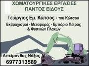 ΧΩΜΑΤΟΥΡΓΙΚΑ