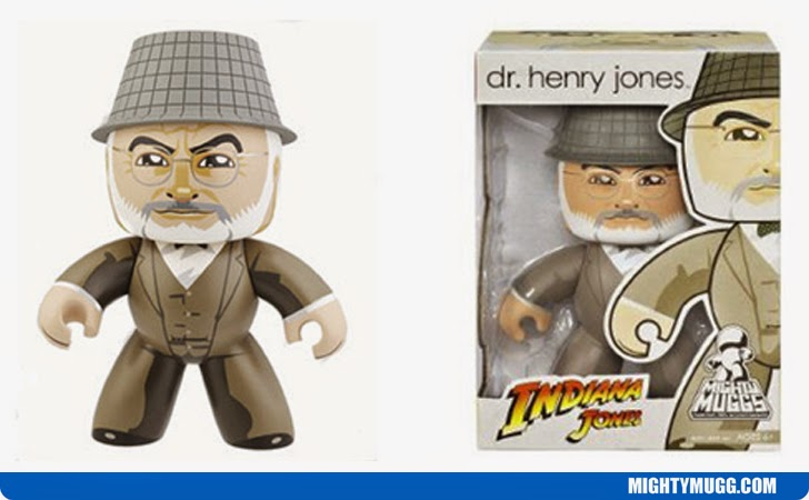Dr. Henry Jones Indiana Jones Mighty Muggs Wave 2