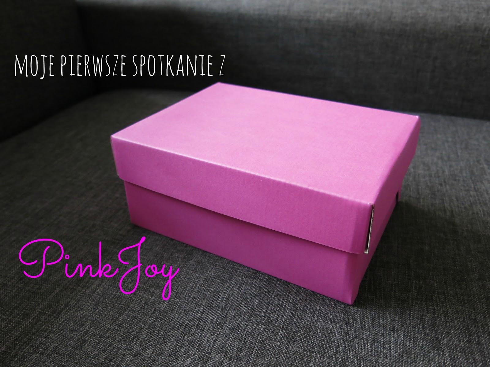 PinkJoy - moje pierwsze zamówione pudełko z kosmetykami .