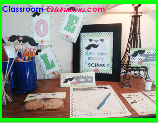 Meet the Teacher Night Classroom Celebrations