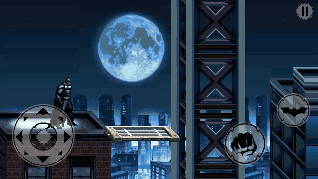 Dark Knight Rises game for iPad and iPhone