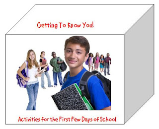 Getting to Know You Activities by Charlene Tess