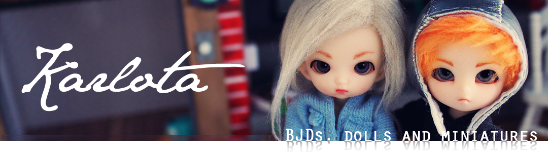 Karlota - BJDs, dolls and miniatures