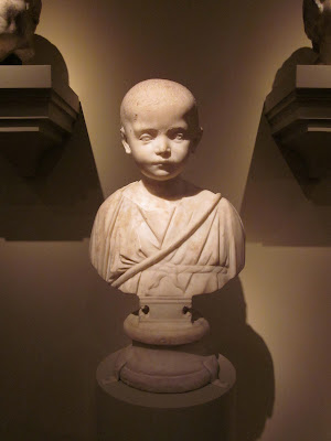 Roman Bust of Child