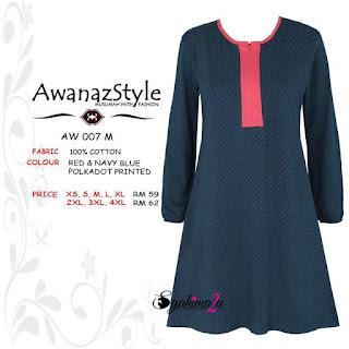 T-Shirt-Muslimah-Awanazstyle-AW007M