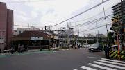 京急八丁畷駅と京急川崎第一踏切