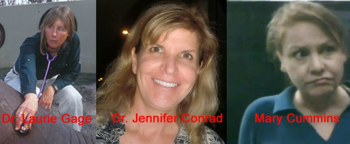 mary cummins Dr. Laurie Gage Jennifer Conrad