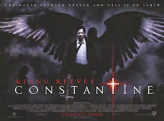 Constantine (released in 2005) - Supernatural, starring Keanu Reeves, Rachel Weisz, Shia LaBeouf and Tilda Swinton