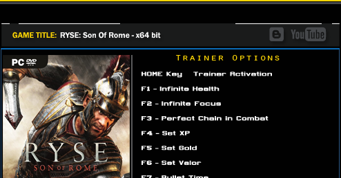 ryse son of rome android game download