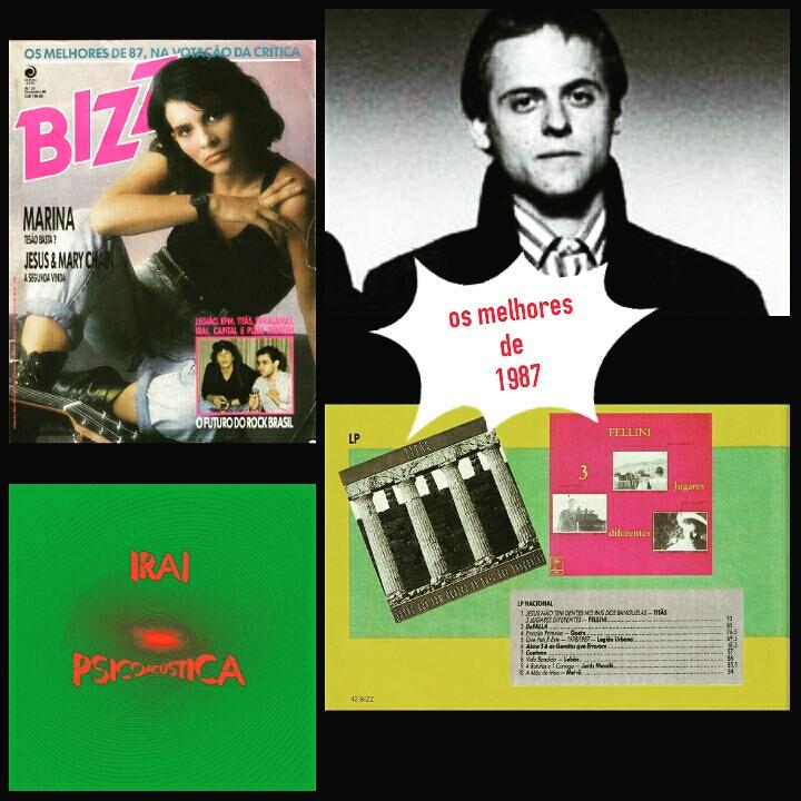 Revista Bizz - Rixas e os melhores de 1987