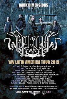 Arkona Brazil tour 2015