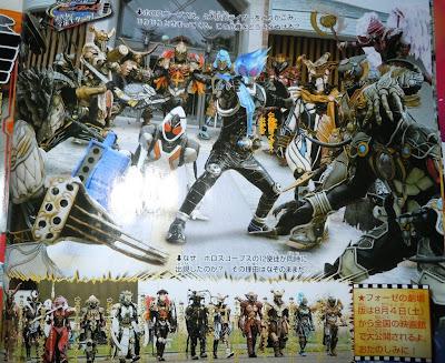Kamen Rider Fourze, Meteor vs Horoscopes