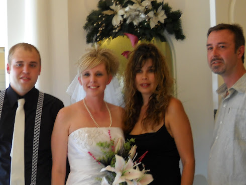 My son Tylers wedding day in Las Vegas