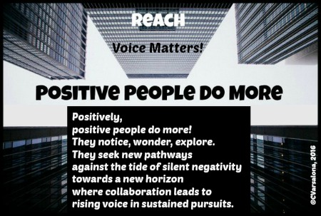 Positive People Do More