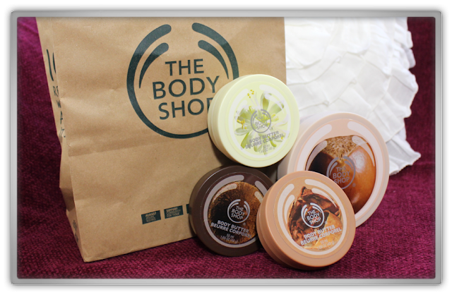 The Body Shop Body Butters Haul Review cacao moringa coconut shea bodycare winter musthave H&M hm pj pajamas 1