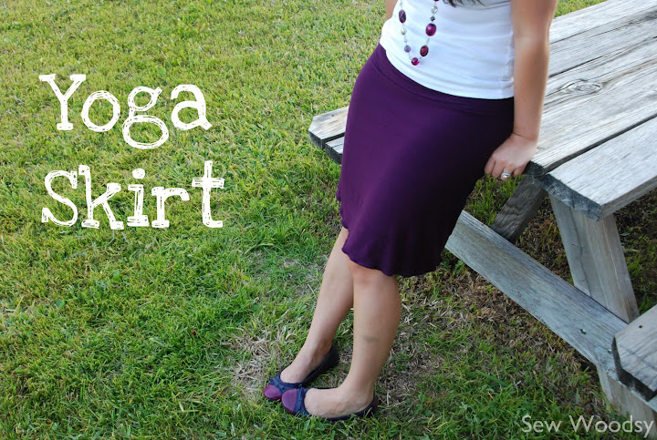 title> {Tutorial} Yoga Skirt</title> | Sew Woodsy